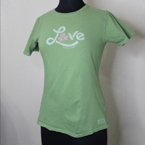 "Life is Good ""Love"" T-shirt"
